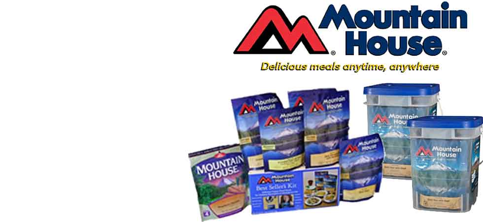 Mountain House Freeze Dried Food Sale